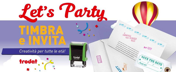 Timbri per feste e party