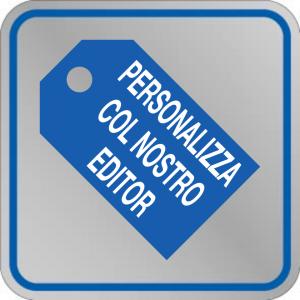 Etichetta adesiva PERSONALIZZABILE 50x50 mm
