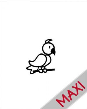 Uccello - Maxi Adesivi Famiglia per Camper