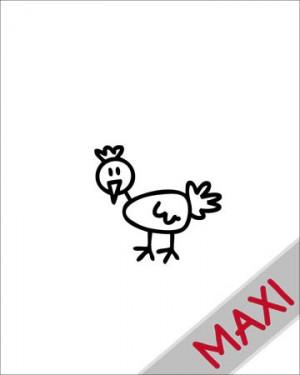 Gallina - Maxi Adesivi Famiglia per Camper