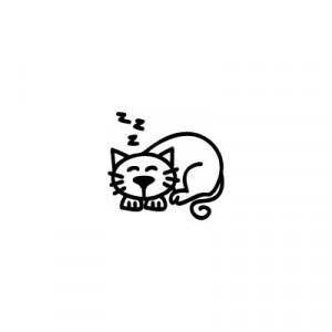 Gatto - Adesivi Famiglia