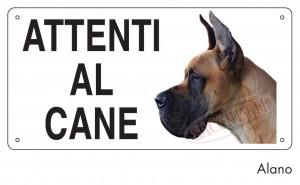 Attenti al cane Alano