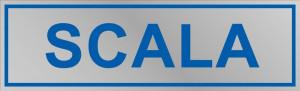 """Etichetta adesiva """"Scala"""""""