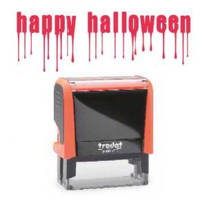 "Timbro ""Happy Halloween"""