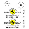 "Kit adesivi ""Crash Test Euro NCAP"" - Foglio1"