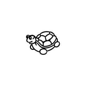 Tartaruga - Adesivi Famiglia