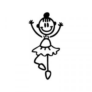 Bambina ballerina
