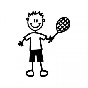 Bambino tennista