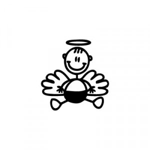 Neonato angioletto