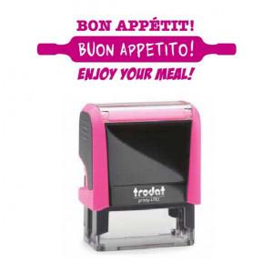 """Timbro """"Buon appetito!"""""""