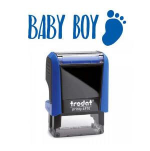 """Timbro """"Baby boy"""""""
