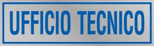 """Etichetta adesiva """"Ufficio tecnico"""""""