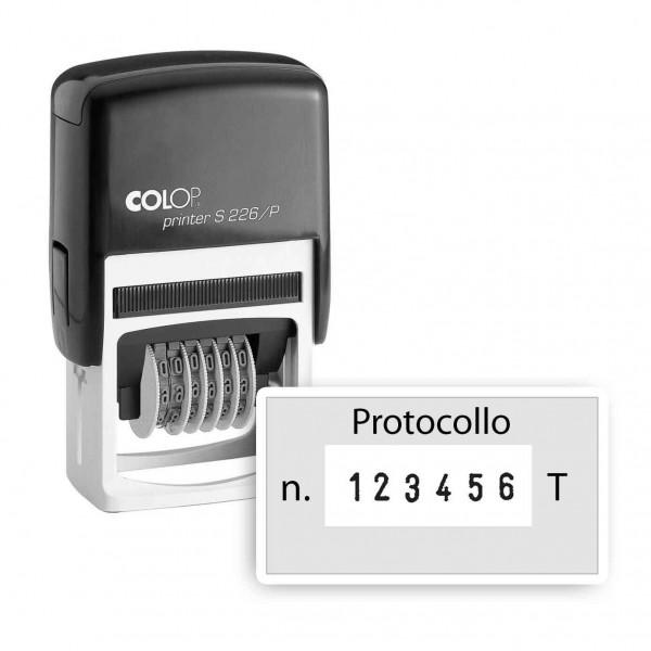 Numeratore Colop Printer S226-P con testo