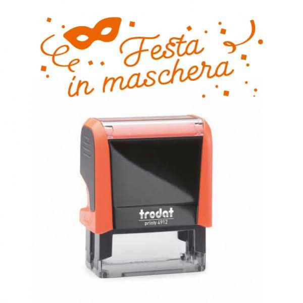 "Timbro ""Festa in maschera"""