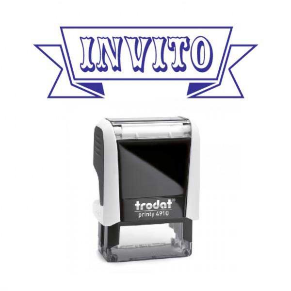 """Timbro """"Invito"""""""