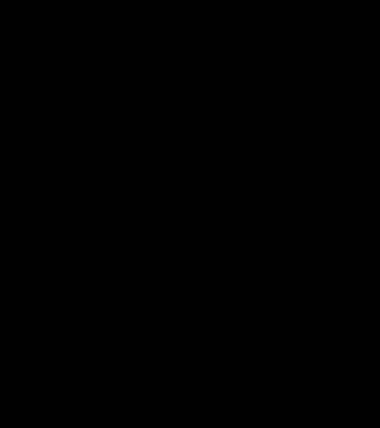 Bambina sugli sci - Adesivi Famiglia