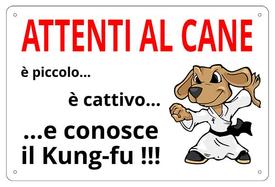 AC009 - Attenti al Cane, conosce il kung-fu