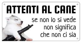 AC012 - Cane armato