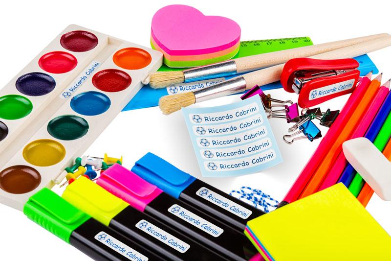 Etichette adesive personalizzabili