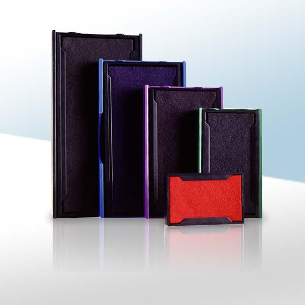 Tamponcini e cartucce di ricambio per timbri Trodat, Colop, Shiny, Vistaprint, Buffetti, etc.