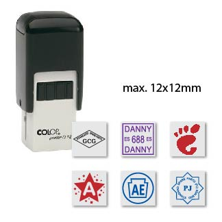Alcuni esempi di timbrate del timbro tascabile Colop Printer Q12