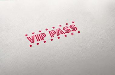 Timbro per festa VIP PASS
