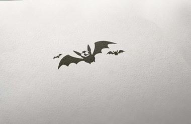 Timbro Halloween PIPISTRELLI
