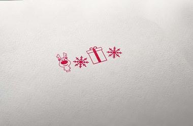 Timbro Natale PACCHI REGALO